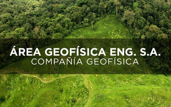 AG/ ÁREA GEOFÍSICA